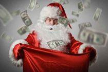 Santa Claus robó banco en Colorado Springs y repartió dinero a transeúntes