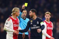 UEFA castigó a Sergio Ramos con dos partidos para la Champions