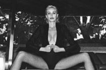 Sharon Stone lanza consejos al mundo desde su cama (Video)