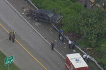 Accidente en la autopista Julia Tuttle en Miami dejó a 3 niños un adulto heridos