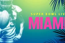 Buscan 10.000 voluntarios para trabajar en Super Bowl LIV en Miami