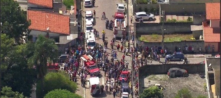 Al menos 10  muertos por tiroteo en escuela de Brasil