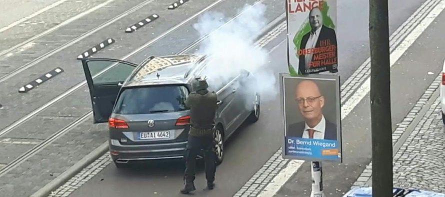 Ataque antisemita: 2 muertos en tiroteo en sinagoga alemana