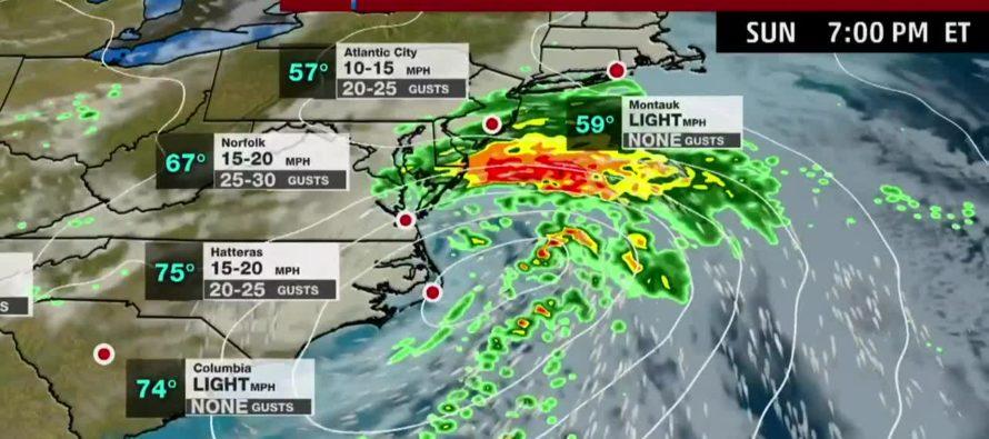Tormenta Néstor se dirige hacia Georgia dejando algunos daños en Florida