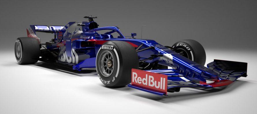 Toro Rosso presentó su bólido para la temporada 2019 de F1