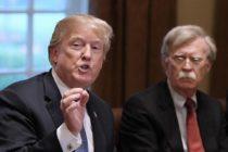 Trump considera que Bolton «se pasó de la raya» respecto a Venezuela