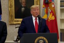 Trump propone reiniciar la actividad económica el 12 de abril pese a COVID-19