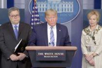 Presidente Donald Trump informó que se harán pruebas clínicas en Nueva York por COVID-19