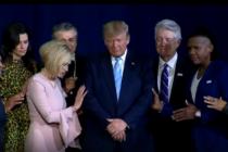 Trump invita a los evangélicos a repetir «la monumental victoria de 2016»
