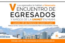 Egresados de la Universidad Metropolitana le hablarán a Venezuela este 6 de febrero en Miami