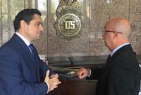 Embajador Vecchio y Comisionado Simonovis afinan DEA estrategias para combatir narcotráfico del régimen de Maduro