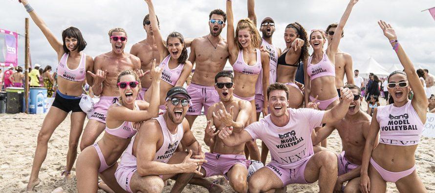 Agencia de modelos de Miami desató la locura en South Beach con torneo de voleibol (+Fotos)