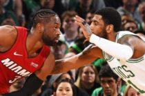 Celtics arruinaron la última visita de Wade a Boston