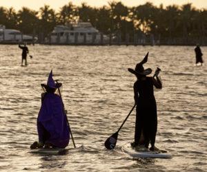 Los Cayos de la Florida celebraron la luna llena de octubre