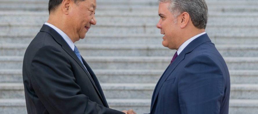 China Hoy : Duque en China: una primera piedra
