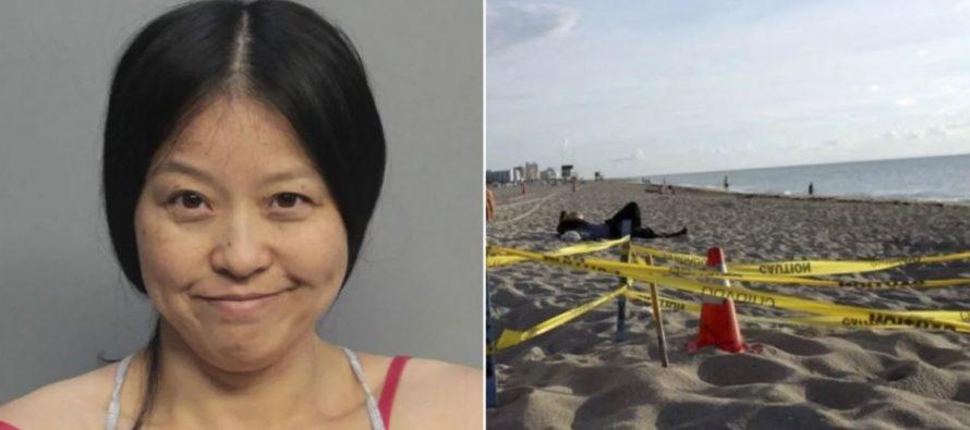 Policía de Miami Beach detuvo a mujer que pisó nido de tortugas protegido