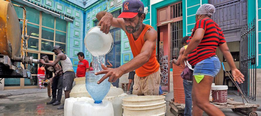 En crisis el suministro de agua potable en Cuba
