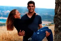 La espectacular pareja de Alice Campello y Morata se encuentra en Miami