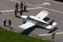 ¡Sorpresivamente! Avioneta descendió en una carretera de Broward