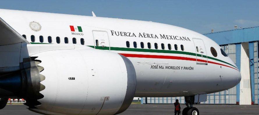 Andrés López Obrador olvidó ofrecerle a Trump el avión presidencial