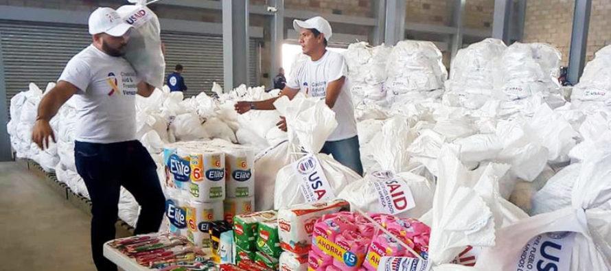 Gran recolección de ayuda humanitaria para Venezuela este domingo en Miami