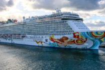 Crucero llega a Puerto Cañaveral luego de un turbulento y accidentado viaje