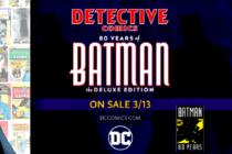 Con edición especial, editorial DC inicia celebración del 80 aniversario de Batman
