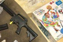 ¡Sorpresa! Compran andadera para bebé y encuentran rifle cargado en Florida (+Fotos)