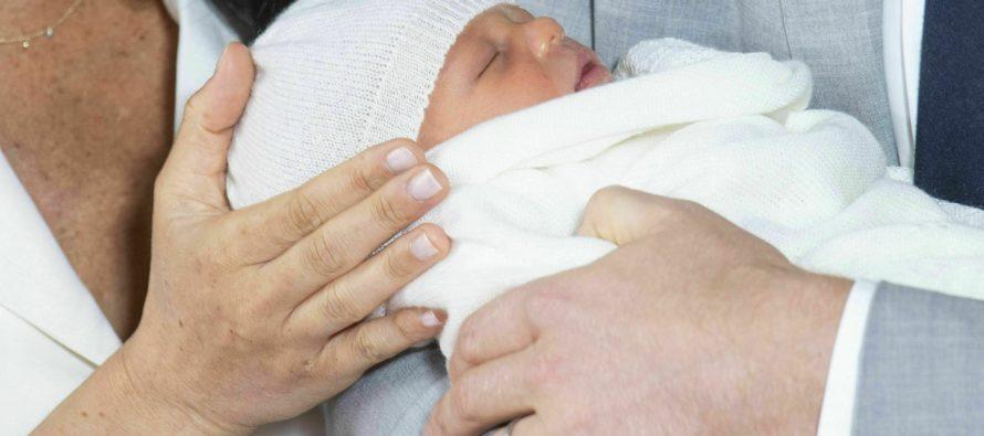 ¡Bienvenido Archie Harrison! El nuevo integrante de la Casa Real Británica