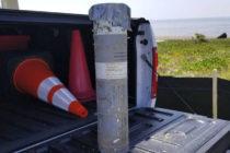 Descubrieron artefacto militar en playa ubicada en los Cayos de Florida
