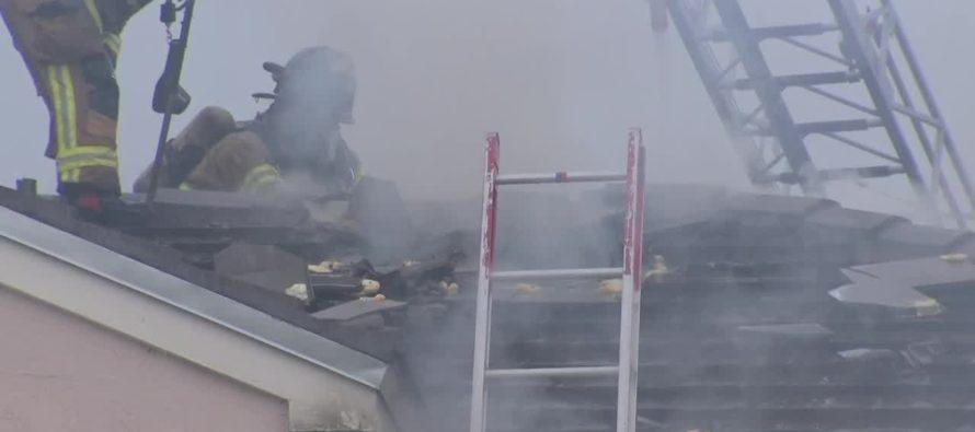 Rayo cayó en cuarto de bebé y originó incendio en Florida