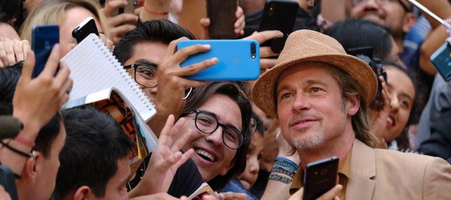 Brad Pitt enloqueció a sus fans en México