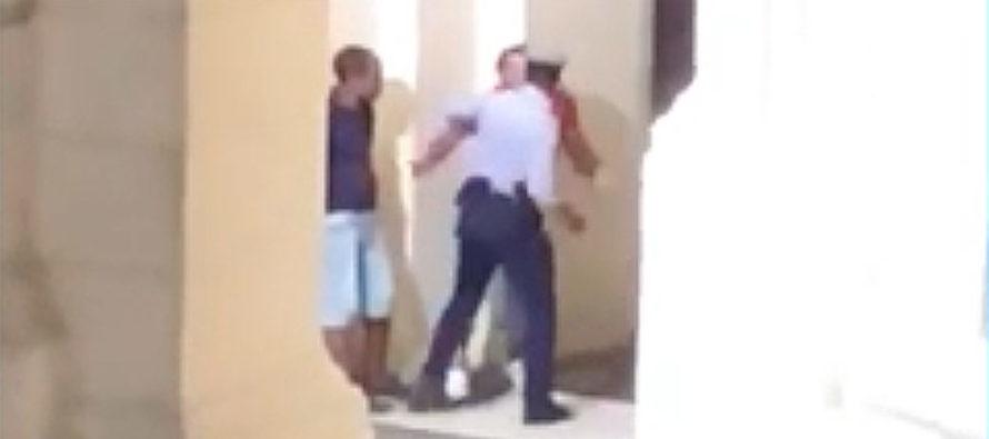 Brutalidad policial en Cuba es filmada desde un hotel