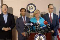 Demócratas y republicanos de Florida apoyan a los venezolanos en su lucha por la democracia