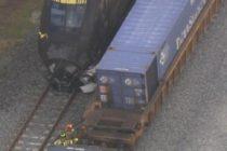 Murió un conductor tras impactar su vehículo contra un tren Brightline