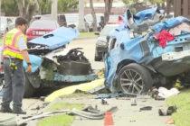 Fatal accidente vial en Miami deja un joven fallecido y otro grave