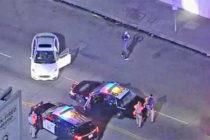 Detienen a conductor que bailó en público antes de su arresto