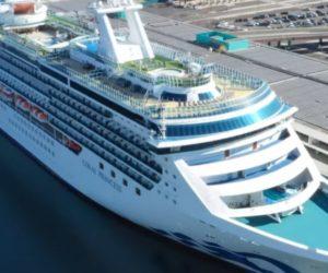 Falleció una tercera persona del crucero Coral Princess que atracó en Florida