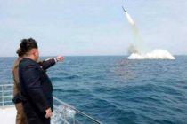 Kim Jong-un supervisó ensayo de un nuevo sistema de misiles guiados de gran calibre