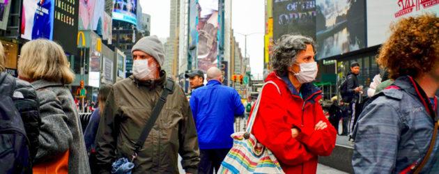 ¡Nuevo record en EEUU! Casi 2.000 decesos en 24 horas y han fallecido 12.722 personas por coronavirus
