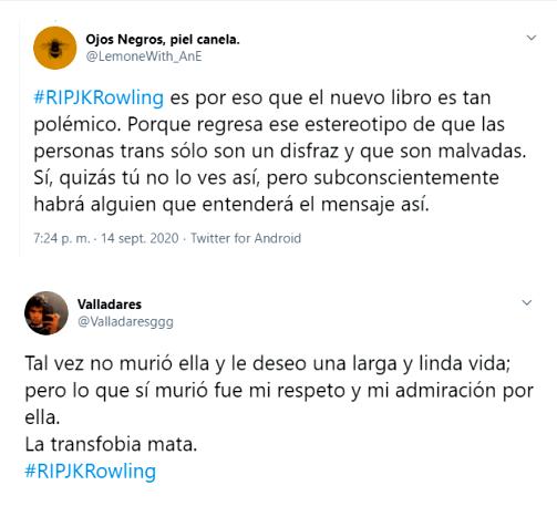 Críticas a la nueva novela de J. K. Rowling por aparente transfobia