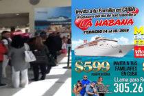 Retorna a Miami crucero que no dejaron atracar en La Habana