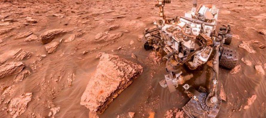 Curiosity descubre como es el amanecer en Marte (Fotos)