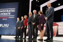 En el sexto debate demócrata Buttigieg fue el centro de atención y Biden lidera