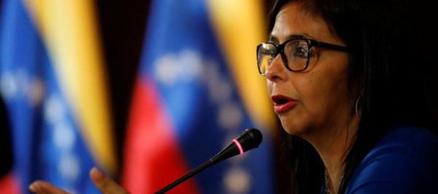 CITGO cubrió los gastos de los viajes de Delcy Rodríguez a Nueva York