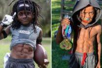 Con siete años niño de Tampa Bay vuela sobre la pista y va tras Usain Bolt