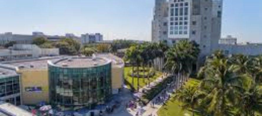 Arrestan a hombre que protestó contra Trump desde una grúa de construcción en la Florida International University