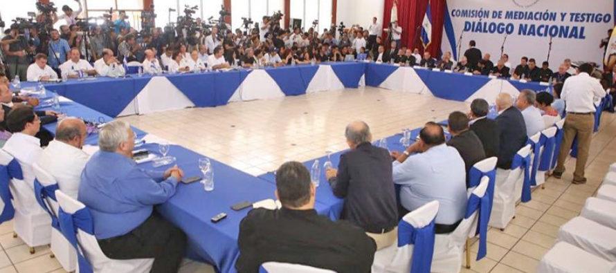 Concluye sexta ronda preliminar de diálogo en Nicaragua