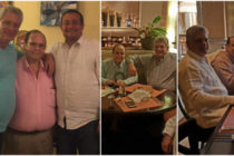 Rebelan detalles sobre la foto de Díaz-Canel cenando