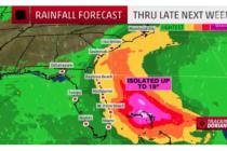 Dorian podría convertirse en huracán categoría 5 en su camino a EEUU